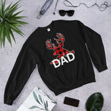 Christmas Pajama Dad Hunter And Hunting Gift Unisex Sweatshirt