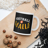 Football And Fall Thanksgiving And Fall Mug