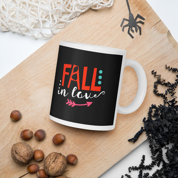 Fall In Love Thanksgiving And Fall Mug