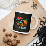 Cutest Pumpkin In The Patch Thanksgiving And Fall Mug