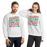 Throw Kindness Around Like Confetti Ugly Christmas Unisex Sweatshirt