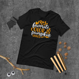 My Favorite Color Is Pumpkin Space Halloween Short-Sleeve Unisex T-Shirt