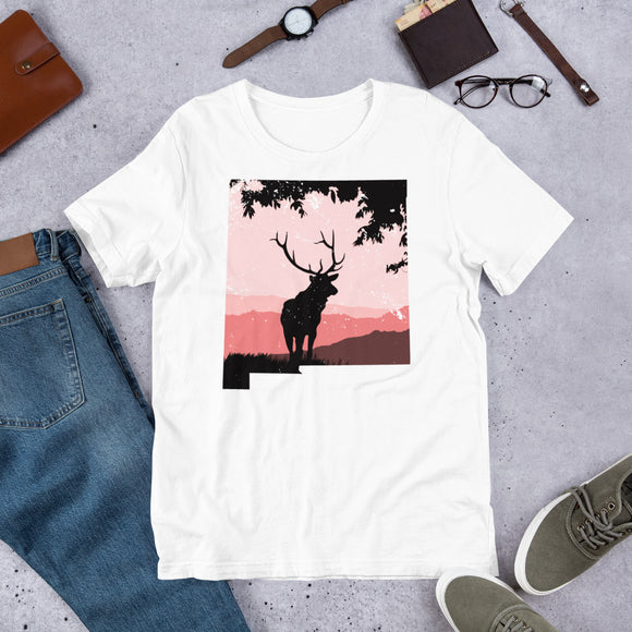 Retro Outdoors Vintage New Mexico Elk Hunting Unisex T-Shirt