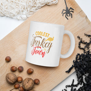 Coolest Turkey In Town Thanksgiving And Fall Mug