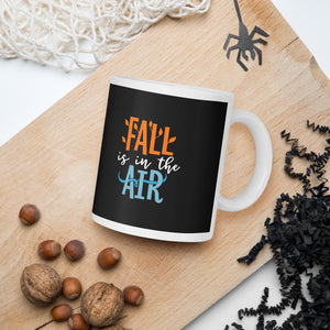 Fall Is In The Air Thanksgiving And Fall Mug
