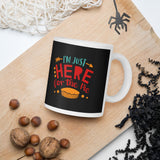 I'm Just Here For The Pie Thanksgiving And Fall Mug
