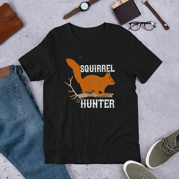 Squirrel Hunter Bow Season Rifle Hunting Unisex T-Shirt
