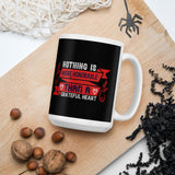 Nothing Is More Honorable Than A Grateful Heart Thanksgiving And Fall Gift Mug