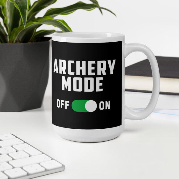 Archery Mode On Funny Bow Hunting Mug