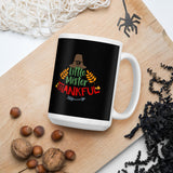 Little Mister Thankful Thanksgiving And Fall Mug