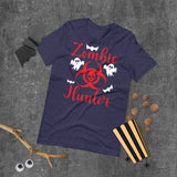 Zombie Hunter Halloween Short-Sleeve Unisex T-Shirt