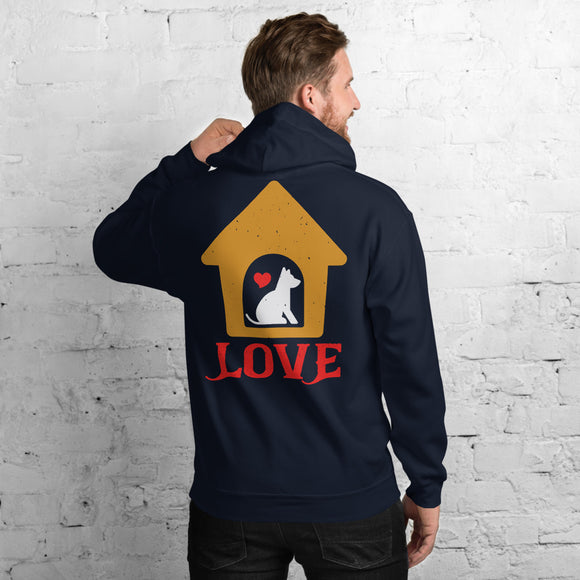 Love Unisex Hoodie Everyone needs a cozy go-to hoodie to curl up in, so go for one that's soft, smooth, and stylish. It's the perfect choice for cooler evenings!