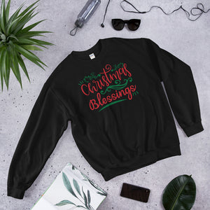 Christmas Blessings Ugly Unisex Sweatshirt