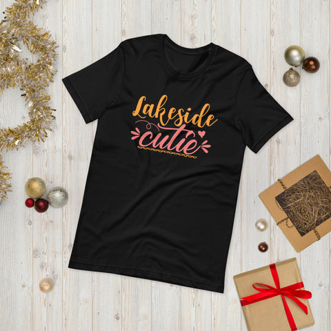 Lakeside Cutie Adventure Unisex T-Shirt This t-shirt is everything you've dreamed of and more. It feels soft and lightweight, with the right amount of stretch. It's comfortable and flattering for both men and women.