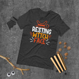 Resting Wttch Face Halloween Short-Sleeve Unisex T-Shirt