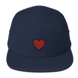 Heart Love Five Panel Cap