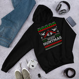Duck Hunting Funny Merry Huntmas Hunters Ugly Christmas Unisex Hoodie
