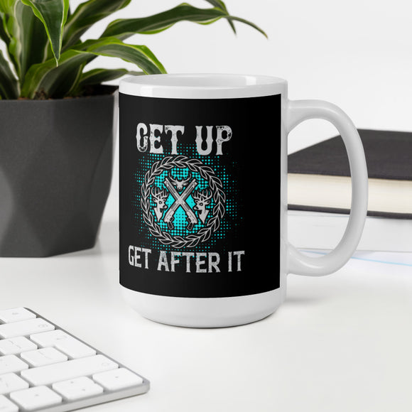 Get Up Get After It Hunting And Outdoors Gift Mug