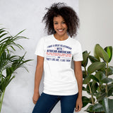 I Have A Great Relationship With African Americans As You Possibly Have Heard I Just Have Great Respect For Them And They Like Me I Like Them Donald Trump Unisex T-Shirt
