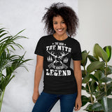 The Man The Myth The Hunting Legend Unisex T-Shirt