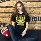 The Thankful Receiver Bears A Plentiful Harvest Thanksgiving And Fall Unisex T-Shirt