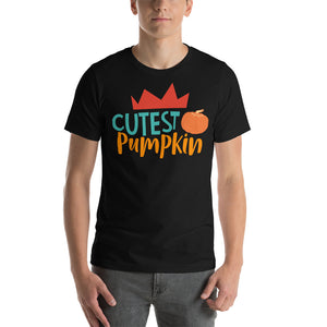 Cutest Pumpkin Thanksgiving And Fall Unisex T-Shirt