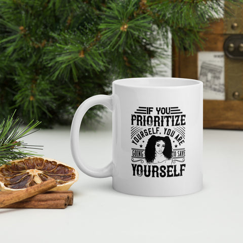 Becoming A Mother Forced Me To Have Hope Afro Coffee Mug Whether you're drinking your morning coffee, evening tea, or something in between – this mug's for you! It's sturdy and glossy with a vivid print that'll withstand the microwave and dishwasher.