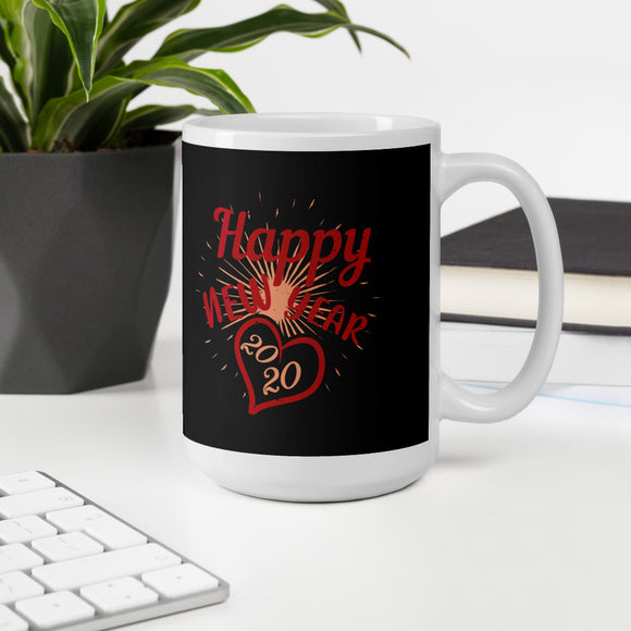 Happy New Year 2020 Christmas Mug