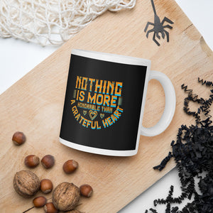 Nothing Is More Honorable Than A Grateful Heart Thanksgiving And Fall Mug