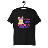 A whole Llama learning going on! Unisex T-Shirt