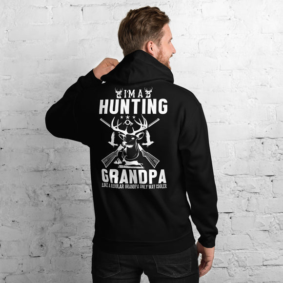 I Am A Hunting Grandpa Like A Regular Grandpa Only Way Cooler Unisex Hoodie