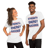 We Need Strength We Need Energy We Need Quickness And We Need Brain In This Country To Turn It Around Donald Trump 2020 Unisex T-Shirt