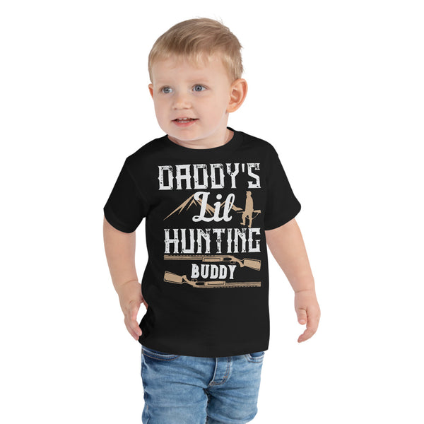 Daddy's Lil Hunting Buddy Toddler Short Sleeve Tee