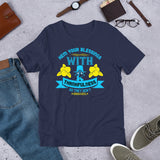 Hem Your Blessings With Thankfulness So They Don't Unravel Thanksgiving Day And Fall Unisex T-Shirt