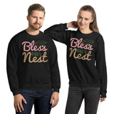 Bless Our Nest Ugly Christmas Unisex Sweatshirt