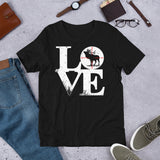 Rifle Scope Targeting For Elk Hunting Valentine Unisex T-Shirt