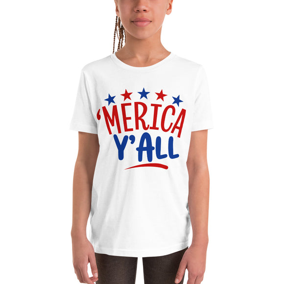 Merica y'all 4th of July t shirt