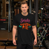 Sweeter Than Pumpkin Pie Thanksgiving And Fall Unisex T-Shirt