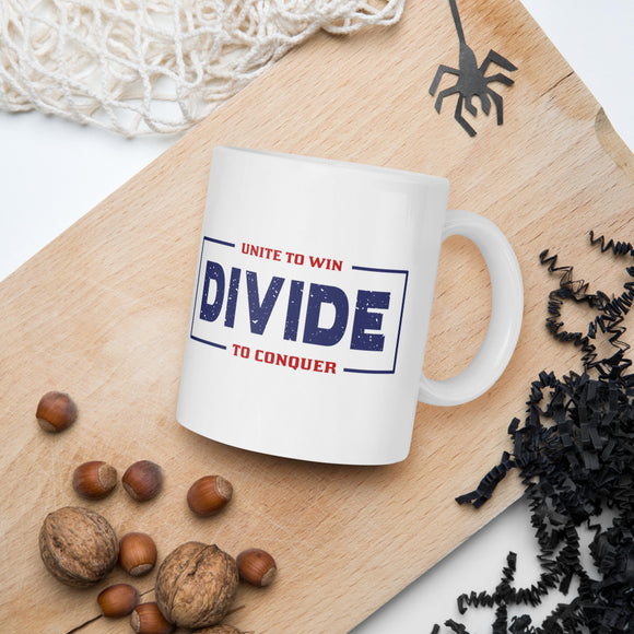 Unite To Win Divide To Conquer Donald Trump 2020 Mug