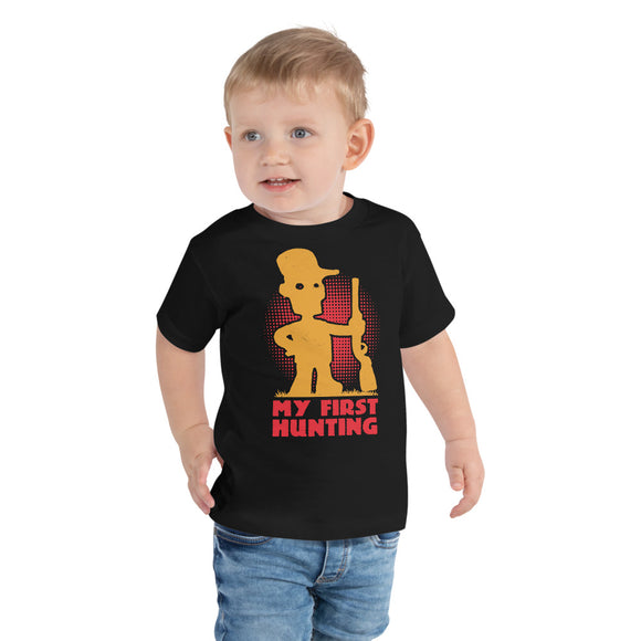 My First Hunting Toddler Short Sleeve Tee