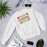 Merry Christmas Y'all Ugly Gift Unisex Sweatshirt