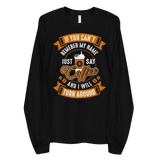 If You Can't Say Coffee Lover Long sleeve t-shirt