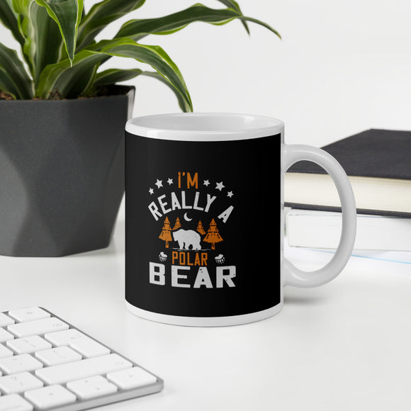 I'm Really A Polar Bear Gift Mug