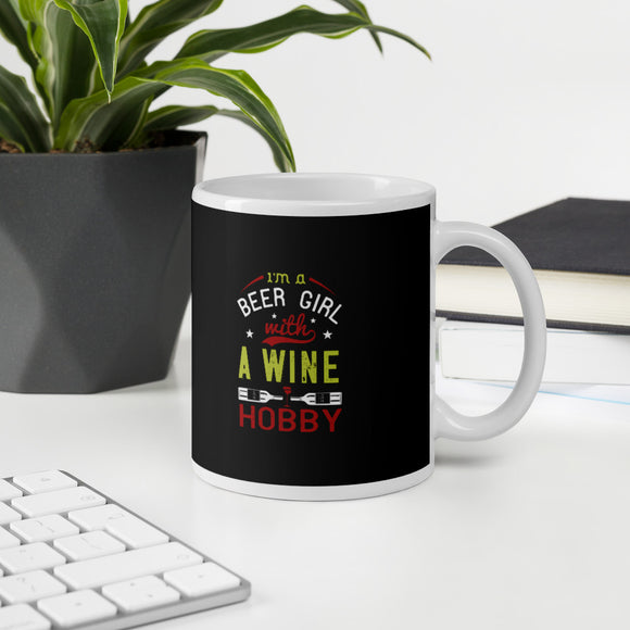 Into The Wine Not The Lable Wine Gift Mug