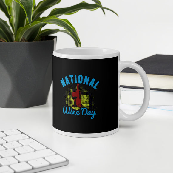 National Wine Day Wine Lovers Gift Mug