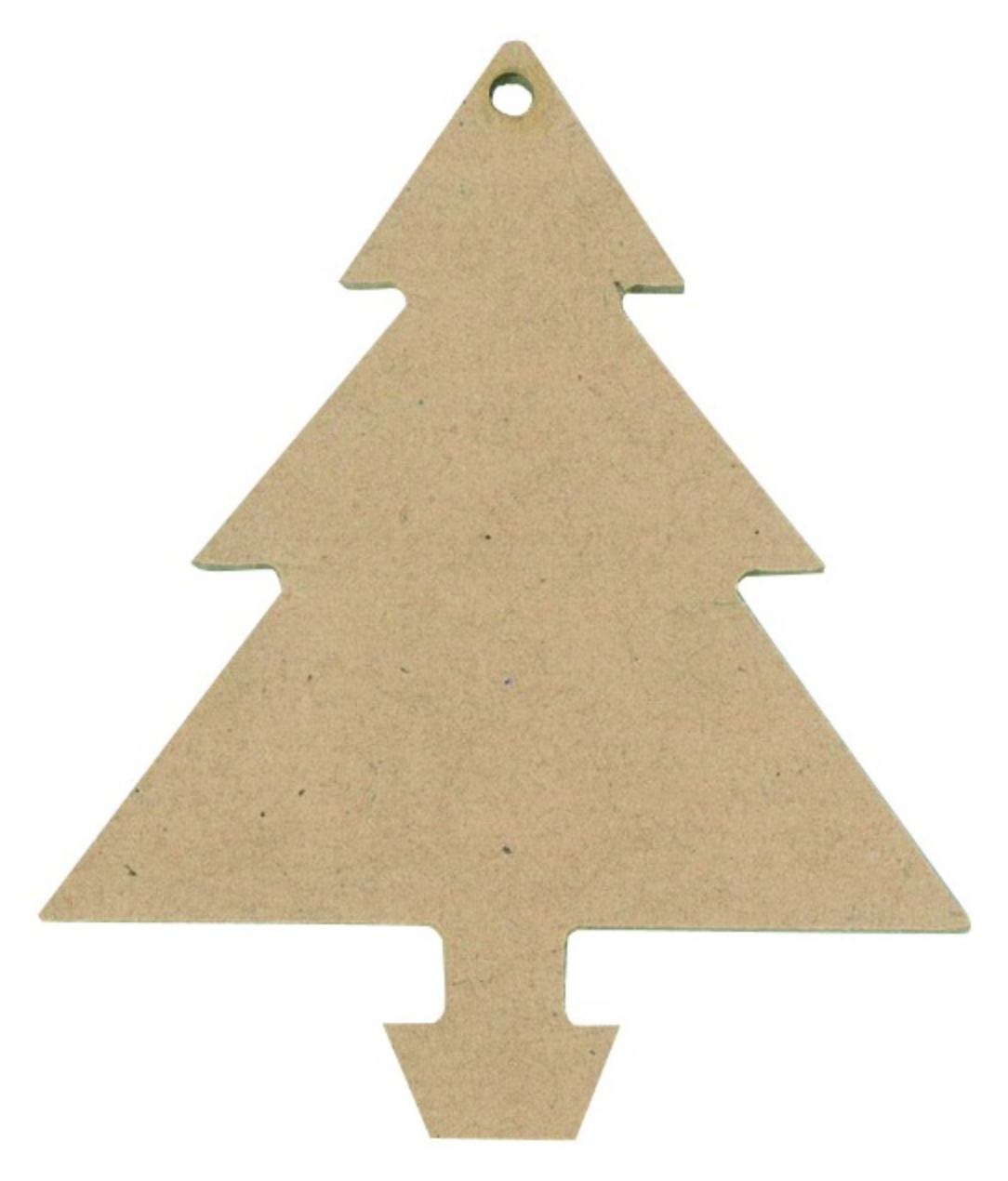 Wooden Shapes Christmas Tree Pack of 12