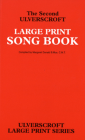 Red Song Book Large Print