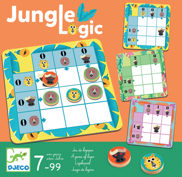 Senior Style Resources Jungle Logic Game