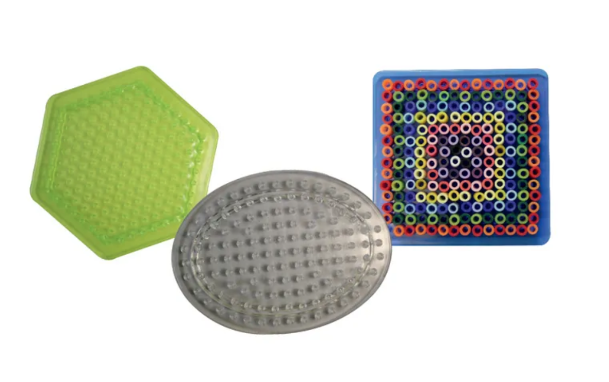 Small Pegboards Hexagon Oval Square Set of 3