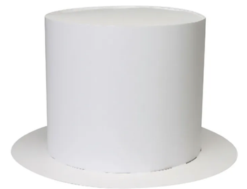 White Paper Top Hats Pack of 20